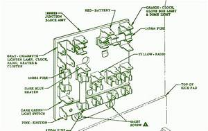 1956 Chevy Bel Air Fuse Block Diagram