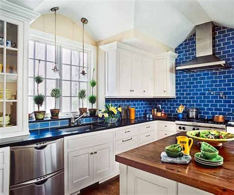 kitchen tiles blue color of the month august 2014 bright cobalt 3314