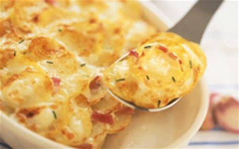 comment cuisiner des pommes de terre recette gratin de pommes de terre au chèvre boîte et au