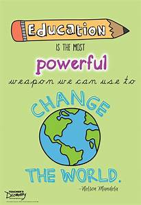 Education Is The Most Powerful Weapon Poster : malala on education mini poster social studies teacher 39 s discovery ~ Markanthonyermac.com Haus und Dekorationen