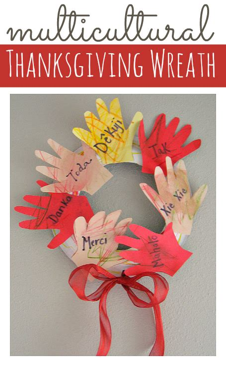 multicultural thanksgiving craft for kids no time for