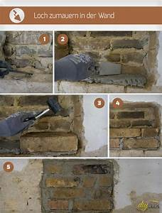 Loch In Der Wand : loch zumauern in der wand anleitung tipps vom maurer ~ Lizthompson.info Haus und Dekorationen