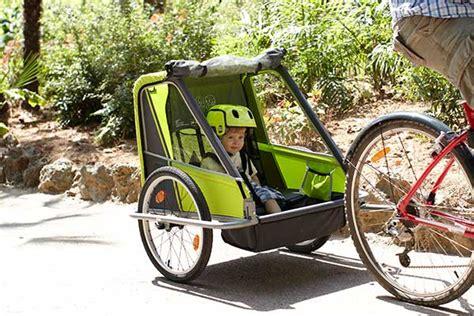 siège bébé pour remorque vélo emmener enfant en vélo quelles solutions