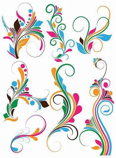 Vectors Flourish Swirls Shapes Brushes Swirl Photoshop