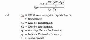 Darlehen Berechnen Formel : industrieanleihen erfolgreiche finanzierung ~ Themetempest.com Abrechnung