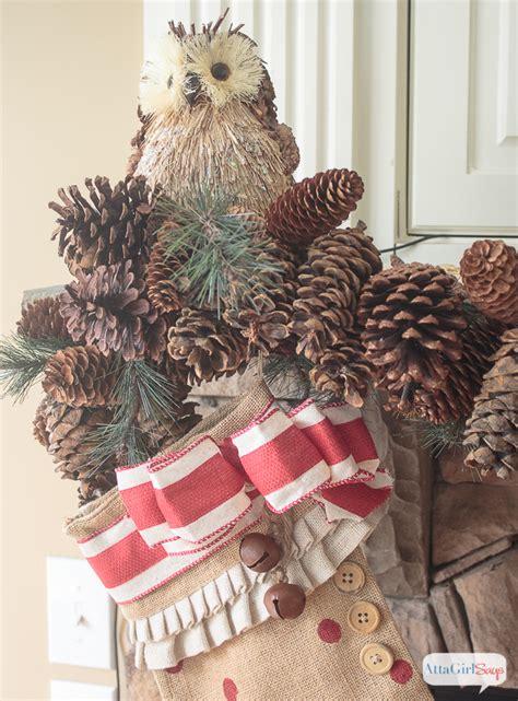 vintage rustic christmas mantel decorations atta girl