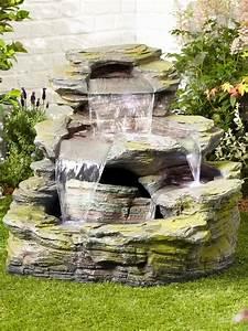 Garda, Falls, Easy, Fountain, Garden, Water, Feature