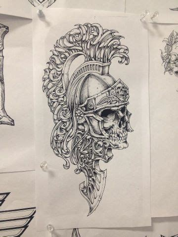 Affliction Threads Tattoo Drawings Skull Tattoos