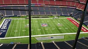 the field in houston for bowl li looks absolutely