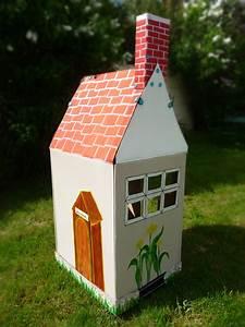 Cabane En Carton À Colorier : une cabane en carton gr ce aux makedo kraftille ~ Melissatoandfro.com Idées de Décoration
