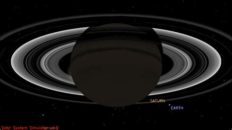 Cassini Space Probe Will See Saturn Eclipse The Sun
