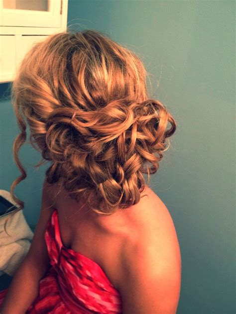Curl Hairstyle For by Curly Hairstyles For Prom The Xerxes