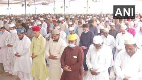 Ramzan namaz offered in Telangana
