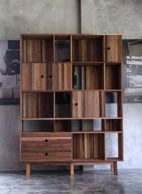 modern furniture    mix  reclaimed woods