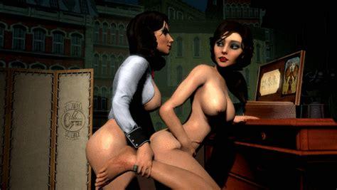 Rule 34 2girls 3d Animated Big Breasts Bioshock Bioshock
