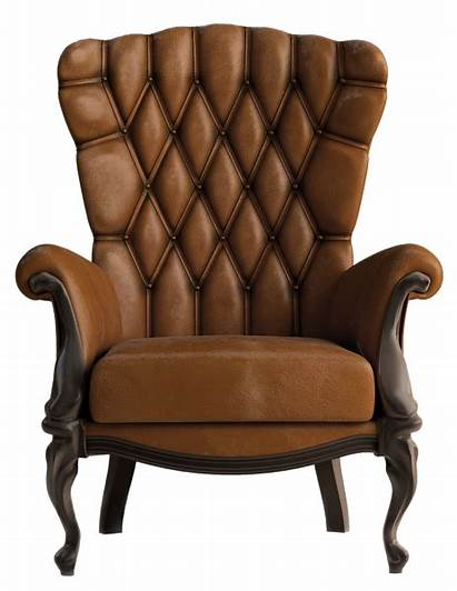 Chair Transparent Leather Clipart Brown Furniture Yopriceville