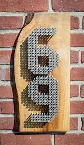 Numéro De Maison Design : les id es d co avec des crous boulons rondelles ~ Dailycaller-alerts.com Idées de Décoration