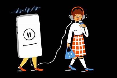 Podcasts Podcast Listening Listen Newyorker Story Stories
