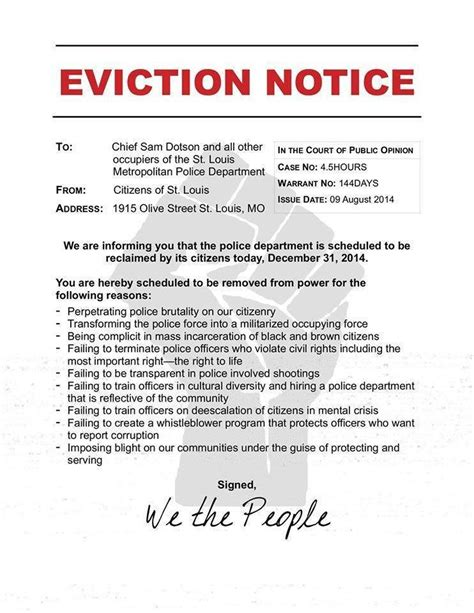 eviction notice photos protesters get arrested pepper sprayed trying to quot evict quot st louis news