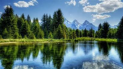 Landscape Wallpapers Amazing Scene Natural Water Tree