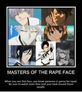 Masters of the Rape Face by Nori27Tanaka on DeviantArt
