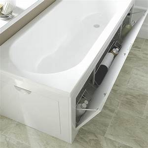 Cooke Lewis Gloss White Bath Front Panel Departments