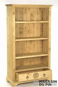 Bibliothèque En Pin : biblioth que meuble chalet en pin massif 3e sculpture montagne le ~ Teatrodelosmanantiales.com Idées de Décoration