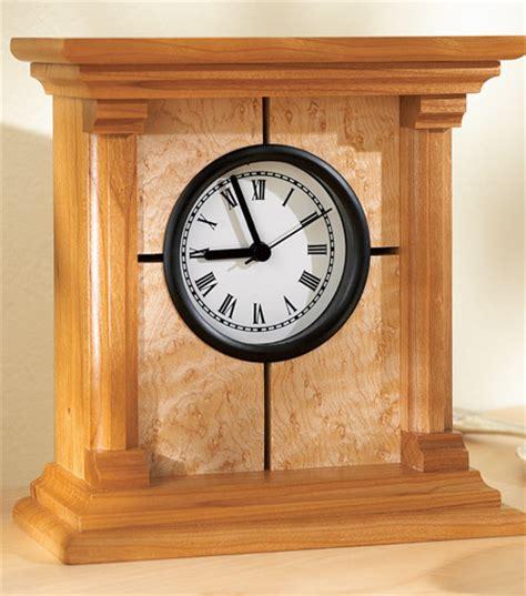 wood clock designs build  platform bed  weekfinish