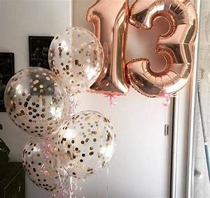 Rosegold Letter Number Balloons Extra Large Jumbo 36""