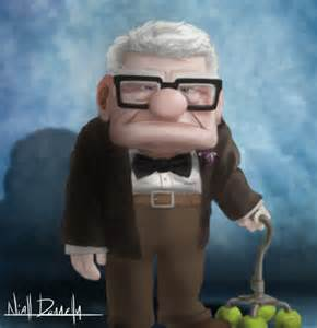 Disney Pixar Mr. Fredrickson Up
