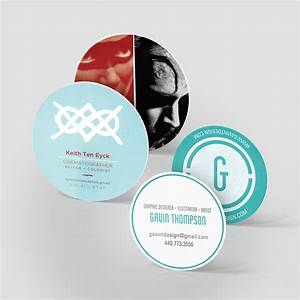 Circle business cards jakprints inc for Circle business card