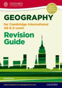 Oxford Geography For Cambridge International As And A
