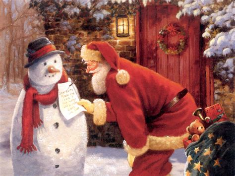 santa claus christmas wallpaper 2736293 fanpop