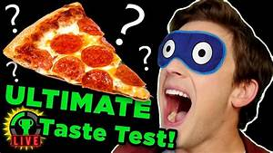 GTLive: The SUPREME PIZZA?! | Blind Taste Test - YouTube
