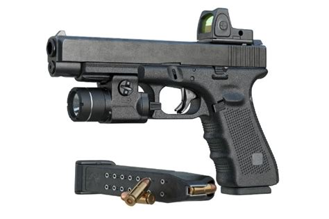 sights rail gun types pistol picatinny fixed adjustable carry accessory gear does they need concealed rails re difference