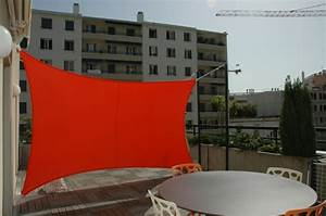 Toile Extérieure Pour Terrasse : brise vue balcon faire d une pierre deux coups ~ Melissatoandfro.com Idées de Décoration