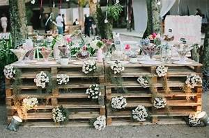 Pallet Wedding Backdrop and Signs Pallets Designs