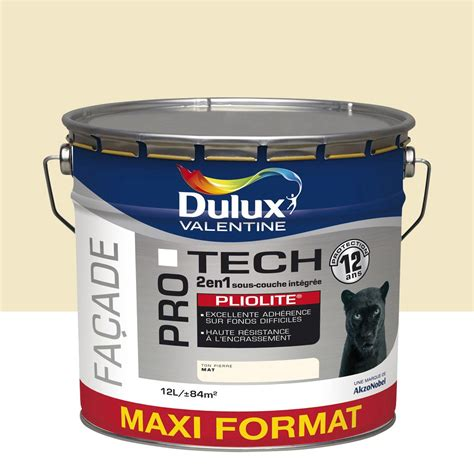 peinture fa 231 ade protech pliolite dulux ton 12 l leroy merlin