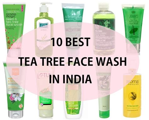 10 Top Best Tea Tree Face Wash In India With Price