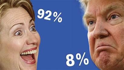 Winning Chances Trump Clinton Texas Donald Sink