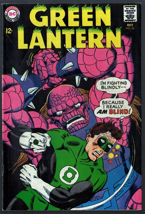 green lantern 1960 56 vf 7 5 green lantern corps part 2 of 2