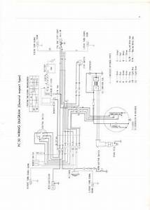 Honda Pc50 Export  1968  Wiring Schematic