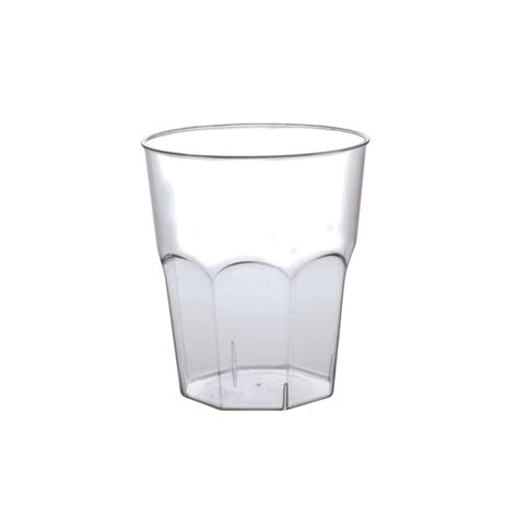 Bicchieri Plastica Trasparente by Bicchiere Plastica 270 Cc Infrangibile Eurofides