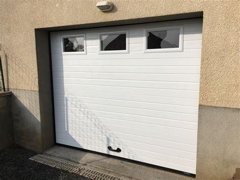porte de garage sectionnelle porte de garage sectionnelle alu glass