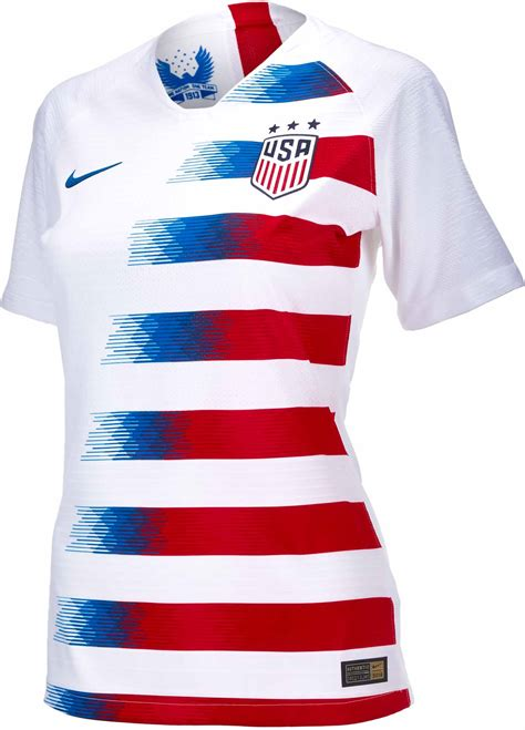 womens nike usa home match jersey   soccerprocom