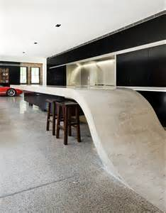 Design Detail - A Concrete Countertop That Connects To The