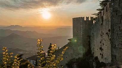 Marino San Italy Sunset Country Landlocked Roamaroo