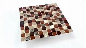 Mosaik Fliesen Beige : selbstklebende mosaik naturstein glas fliesen beige braun ~ Michelbontemps.com Haus und Dekorationen