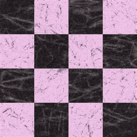 checkerboard marble texture stock illustration