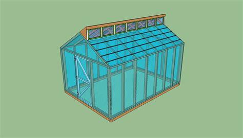 lean  greenhouse plans  plans diy garden